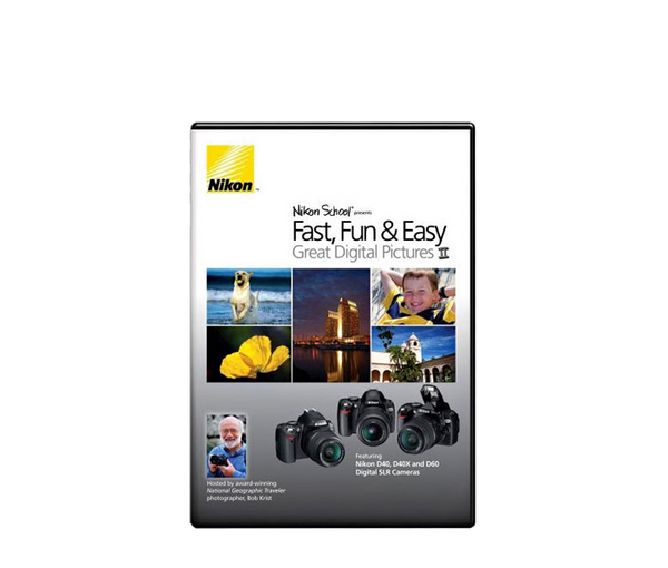 Nikon DVD - Fast Fun & Easy II, camera books, Nikon - Pictureline