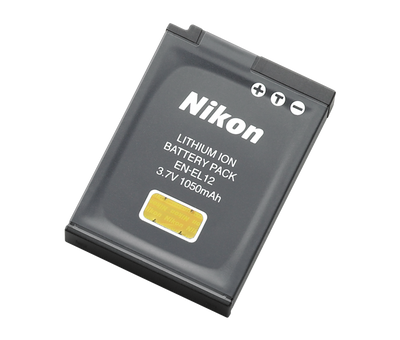 Nikon EN-EL12 Rechargeable Battery, camera batteries & chargers, Nikon - Pictureline