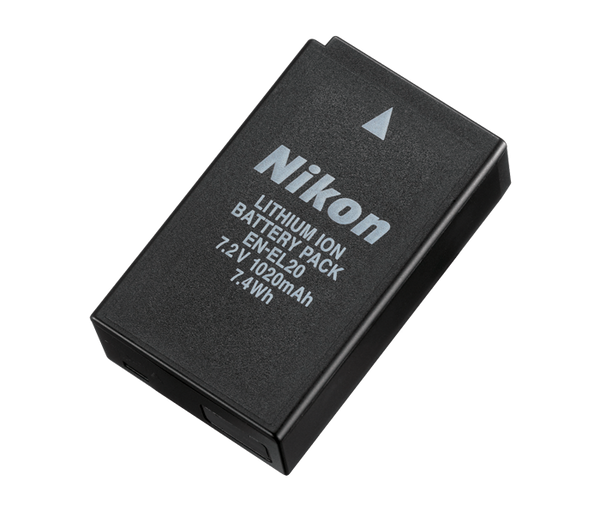 Nikon EN-EL20 Rechargeable Battery, camera batteries & chargers, Nikon - Pictureline