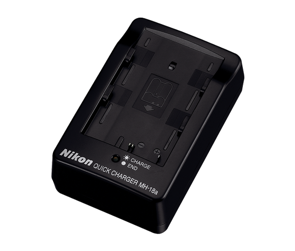 Nikon MH-18a Battery Charger (EN-EL3e), camera batteries & chargers, Nikon - Pictureline