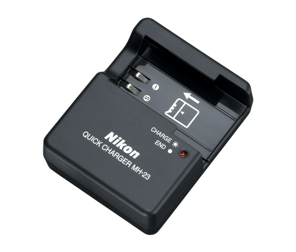 Nikon MH-23 Battery Charger (EN-EL9), camera batteries & chargers, Nikon - Pictureline