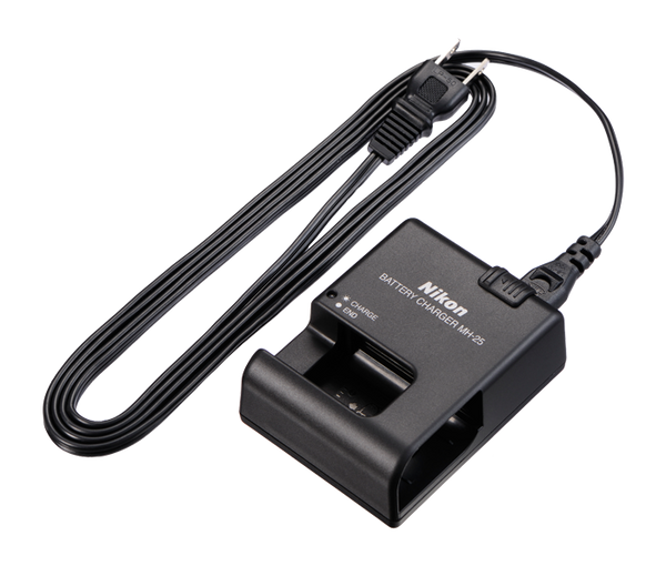 Nikon MH-25 Battery Charger (EN-EL15), camera batteries & chargers, Nikon - Pictureline