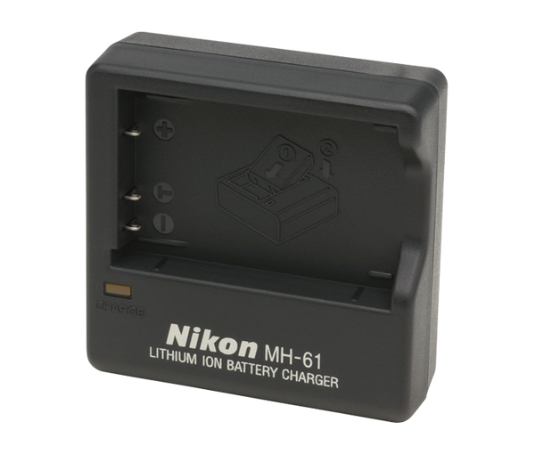 Nikon MH-61 Battery Charger (EN-EL5), camera batteries & chargers, Nikon - Pictureline