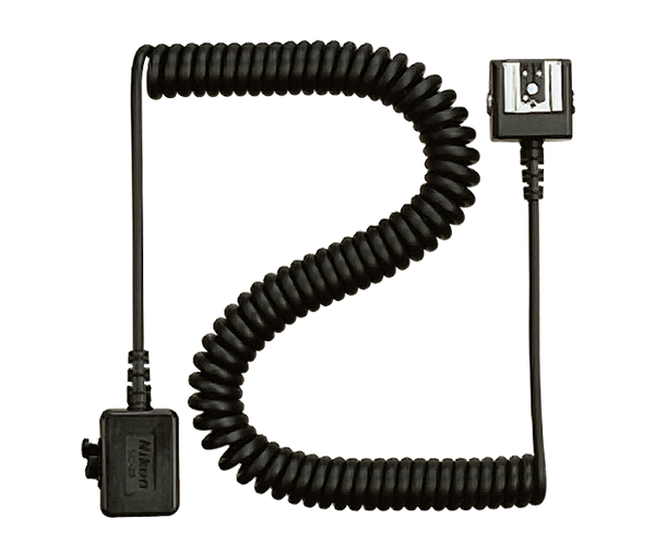 Nikon SC-28 TTL Coiled Remote Cord, lighting hot shoe flashes, Nikon - Pictureline