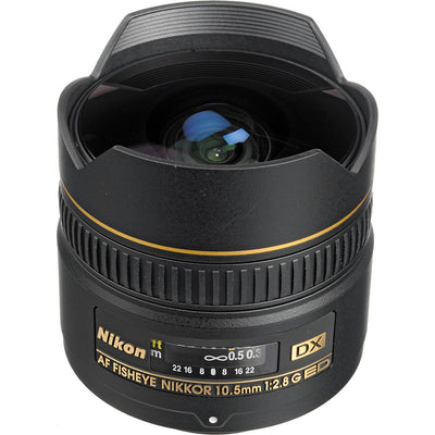 Nikon 10.5mm f/2.8G ED-IF AF DX Fisheye Lens, lenses slr lenses, Nikon - Pictureline  - 4