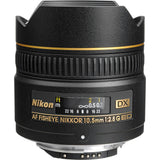 Nikon 10.5mm f/2.8G ED-IF AF DX Fisheye Lens, lenses slr lenses, Nikon - Pictureline  - 3