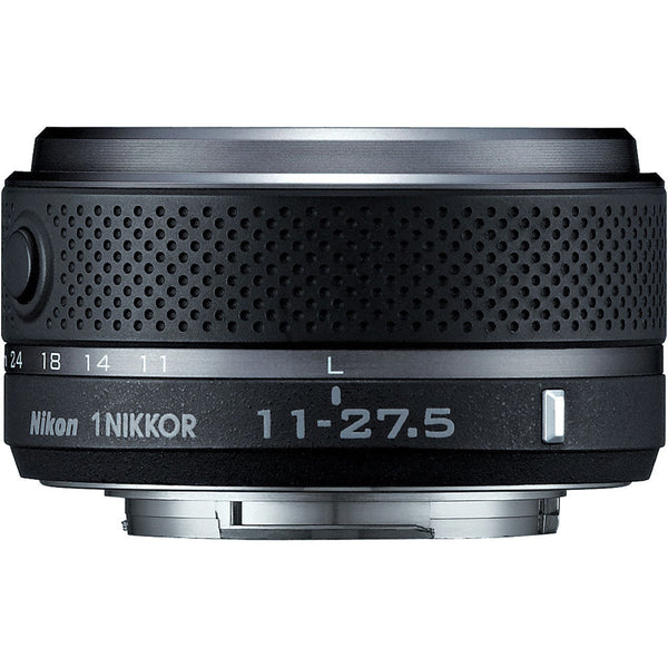 Nikon 1 Nikkor 11-27.5mm f/3.5-5.6 CX Lens Black, discontinued, Nikon - Pictureline  - 1