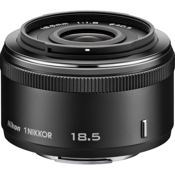 Nikon 1 Nikkor 18.5mm f/1.8 CX Lens Black, discontinued, Nikon - Pictureline