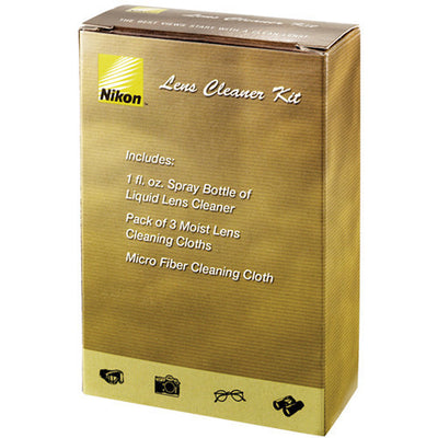 Nikon Lens Cleaner Kit, lenses cleaning & lens care, Nikon - Pictureline  - 1