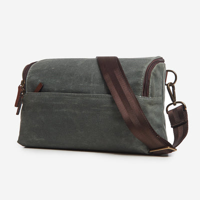 ONA The Rockaway Camera Sling (Smoke Waxed Canvas)