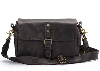 ONA The Bowery Camera Bag Dark Truffle Leather, bags shoulder bags, ONA - Pictureline  - 1