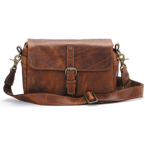 ONA The Bowery Camera Bag Antique Cognac Leather, bags shoulder bags, ONA - Pictureline  - 1