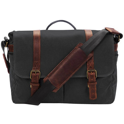 ONA The Brixton Camera and Laptop Messenger Bag Black, bags shoulder bags, ONA - Pictureline  - 1