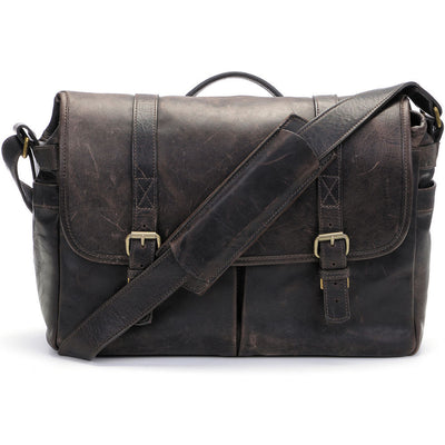 ONA The Brixton Camera and Laptop Messenger Bag Dark Truffle Leather, bags shoulder bags, ONA - Pictureline  - 1