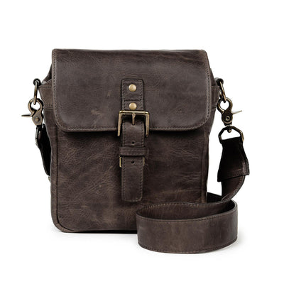 ONA Bond Street Leather Camera Bag Dark Truffle