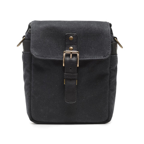 ONA Bond Street Canvas Camera Bag Black