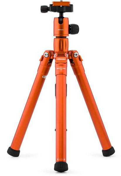 MeFOTO BackPacker Air Tripod Kit (Orange), tripods travel & compact, MeFOTO - Pictureline  - 1