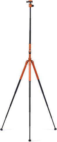 MeFOTO GlobeTrotter Air Travel Tripod Kit (Orange), tripods travel & compact, MeFOTO - Pictureline  - 1