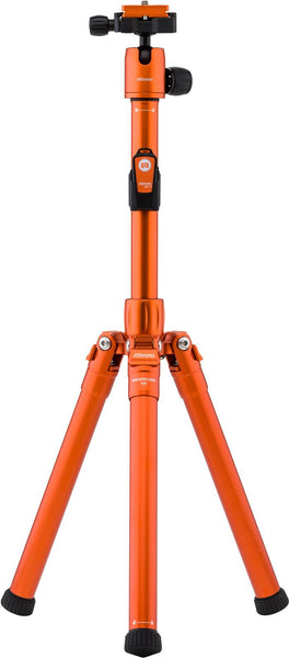MeFOTO RoadTrip Air Travel Tripod Kit (Orange), tripods travel & compact, MeFOTO - Pictureline  - 1