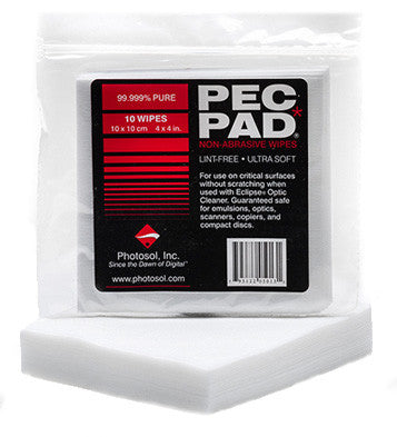 "Photographic Solutions Pec*Pad 4""""x4""""-100 Sheets, cameras protection & maintenance, Photographic Solutions - Pictureline"