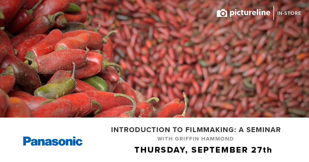Introduction to Filmmaking: a Seminar with Griffin Hammond (September 27th, Thursday)