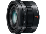 Panasonic Lumix 15mm f1.7 Summilux Four Third Lens, lenses mirrorless, Panasonic - Pictureline  - 2