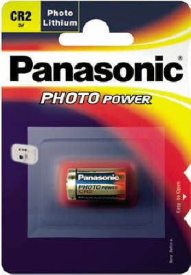 Panasonic CR2 Photo Battery, camera batteries & chargers, Sanyo - Pictureline