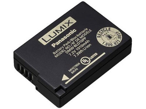 Panasonic Battery DMW-BLD10 Lithium-Ion, camera batteries & chargers, Panasonic - Pictureline
