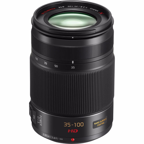 Panasonic Lumix 35-100mm f2.8 Micro Four Thirds Lens, lenses mirrorless, Panasonic - Pictureline  - 1