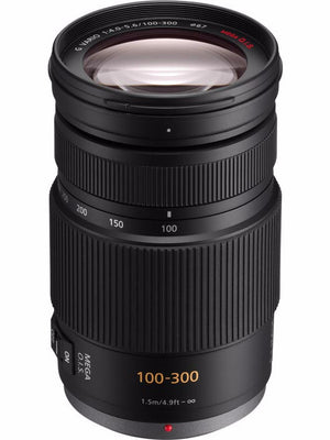 Panasonic Lumix 100-300mm f4-5.6 OIS Micro Four Thirds Lens, discontinued, Panasonic - Pictureline  - 1