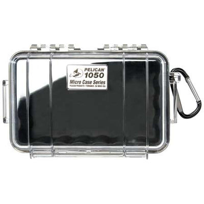 Pelican 1050 Micro Case Clear/Black, bags hard cases, Pelican - Pictureline  - 1