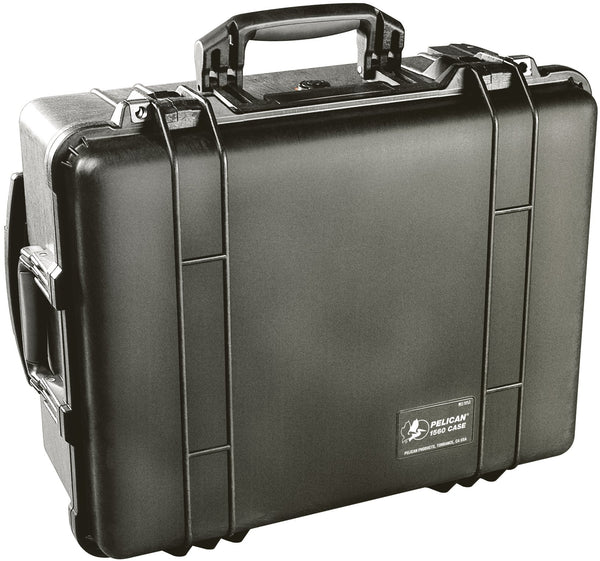 Pelican 1560 Case Black / Foam, bags hard cases, Pelican - Pictureline  - 1