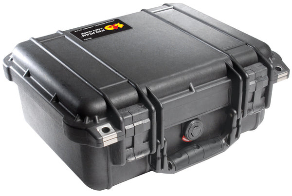 Pelican 1400 Case Black / Foam, bags hard cases, Pelican - Pictureline  - 1