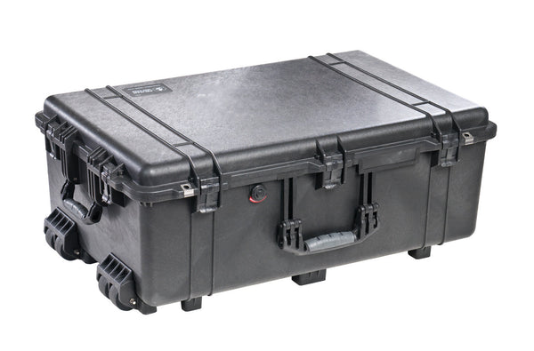 Pelican 1650 Case Black / Foam, bags hard cases, Pelican - Pictureline  - 1