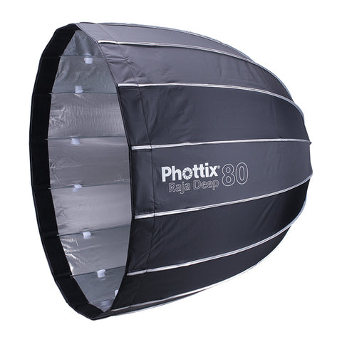 "Phottix Raja Deep Quick Folding Parabolic Softbox (32"")"