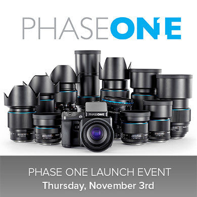 Phase One Launch Event (Nov 3), events - past, pictureline - Pictureline