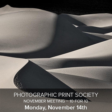 Photographic Print Society November Meeting (November 14th), events - past, Pictureline - Pictureline