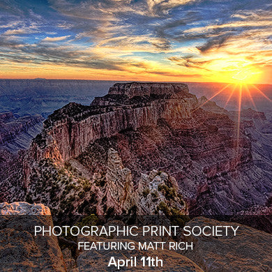 Photographic Print Society April Meeting (April 11th), events - past, Pictureline - Pictureline