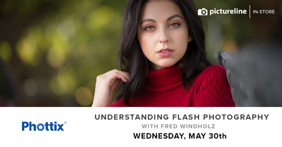 Understanding Flash Photography with Fred Windholz (May 30th, Wednesday)