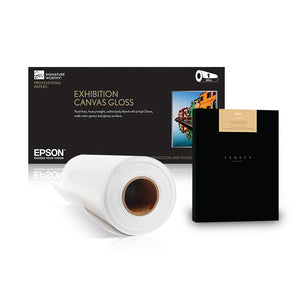 "Epson Exhibition Canvas Satin Natural 44""x40' Roll"