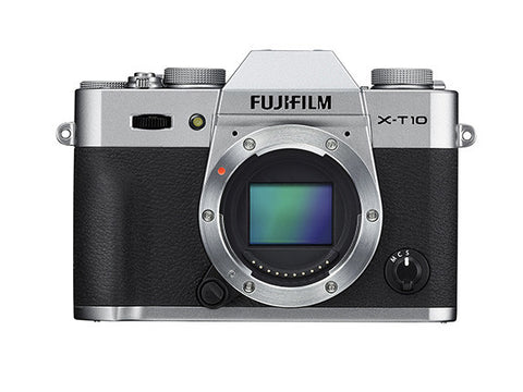 Fujifilm X-T10 Mirrorless Digital Camera Body (Silver), camera mirrorless cameras, Fujifilm - Pictureline  - 1