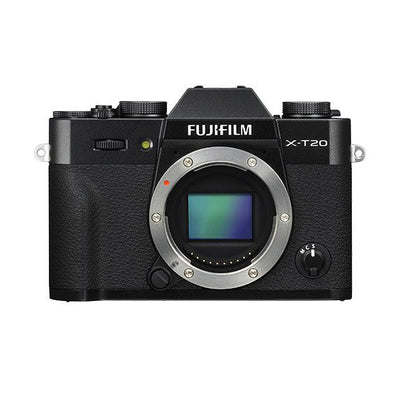 Fujifilm X-T20 Mirrorless Digital Camera Body (Black), camera mirrorless cameras, Fujifilm - Pictureline  - 1