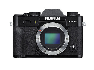 Fujifilm X-T10 Mirrorless Digital Camera Body (Black), camera mirrorless cameras, Fujifilm - Pictureline  - 1