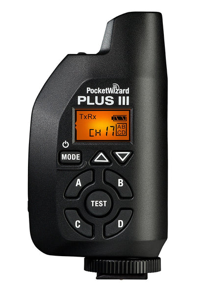 Pocket Wizard Plus III Transceiver, discontinued, Pocket Wizard - Pictureline