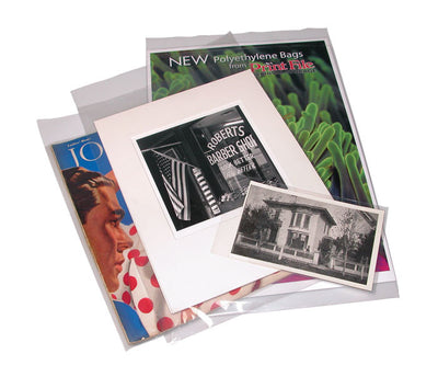 Print File 11x14 poly 4-mil Bags-25, camera film storage, Print File - Pictureline