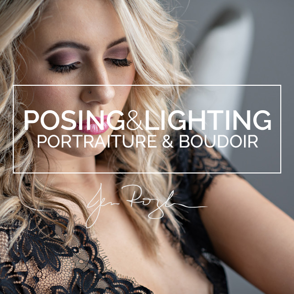 Posing and Lighting for Portraiture & Boudoir with Jen Rozenbaum (Saturday, October 5)