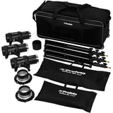 Profoto D1 Studio Kit 500/500/1000 Air w/o Air Remote, lighting studio flash, Profoto - Pictureline  - 1