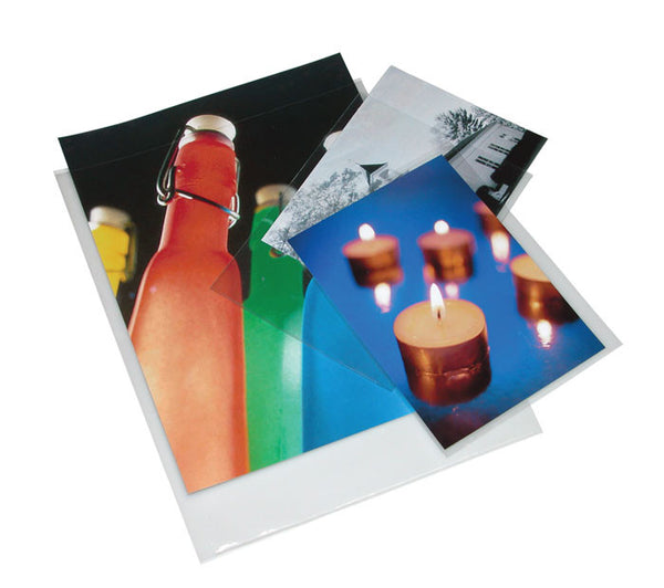 Print File 5x7 Presentation Pockets 6 mil (100), camera film storage, Print File - Pictureline