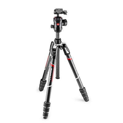 Manfrotto Befree GT Travel Carbon Fiber Tripod w/ 496 Ball Head (Black)