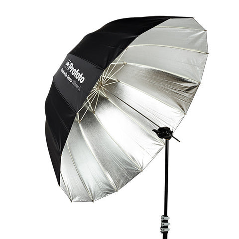 "Profoto Umbrella Deep Silver L (130cm/51""""), lighting umbrellas, Profoto - Pictureline"
